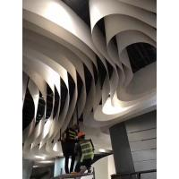 Flake 3mm Thickness Aluminum Ceiling Panels Kynar 500 Coating For High End Shopping Mall Manufactures