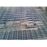 Self Color Mild Steel Grating , Fire Brigade Driveways Galvanised Grid Flooring Manufactures