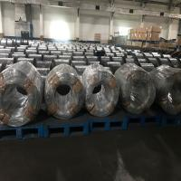 High Carbon Galvanized Steel Wire For Wire Rope , Galvanized Wire Roll Manufactures