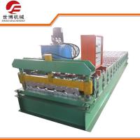 Steel IBR Roof Trapezoidal Profile Sheet Cold Roll Forming Machine 1000 Manufactures