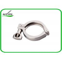 Hygienic Heavy Duty Pipe Clamps DIN ISO 3A SMS Standard With Highly Sealing