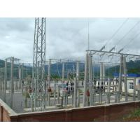 66 KV Steel Frame Structure Building , Steel Frame Buildings Electric Power Manufactures