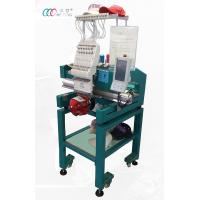 China Single Head 12 Needles Cap Embroidery Machine For 3D Puff Embroider on sale