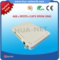Buy cheap HZW-E804-FT ONU 4GE 2POTS CATV EPON ONU wholesale from Chinese factory from wholesalers