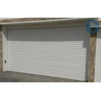 China Motor Operation Roller Shutter Garage Doors Aluminum Alloy , CE on sale