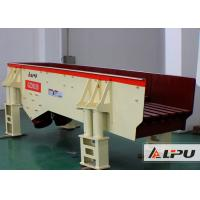 Low Noise Grizzly Vibrating Feeder Machine For Marble / Vibration Conveyor Manufactures