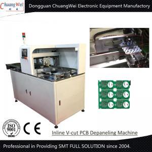 40°  Angel V-Cut PCB Separator  Inline Printed Circuit Board PCB Depaneling Equipment Manufactures