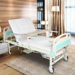 Four Cranks Adjustable Hospital Beds , Adults Adjustable Beds For Disabled Manufactures
