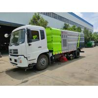 Dongfeng 9000 Liters Water Mechanical Sweeper Truck , 9 Ton Street Washing Truck Manufactures