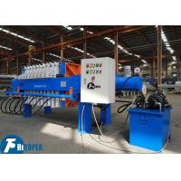 870mm Plate 10m2 Membrane Filter Press 150 Liters Filter Chamber Volume Manufactures