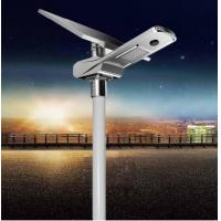 Smart Outdoor Lithium Battery Integrated Street Light Independent Solar Panel Manufactures