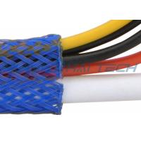 Abrasion Resistance Flame Retardant Cable Sleeve Custom Logo For Wire Management Manufactures