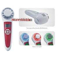 Ultrasonic LED / Vibration / Ion Skin Care Device For Skin Rejuvenation Manufactures