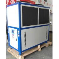 3N / 380V / 50HZ Low Noise Industrial Air Cooled water Chiller / Air Cooling Machine With  Sanyo Compressor Manufactures