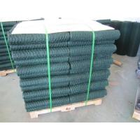 6005 Vinyl Coated Green Wire Netting / 25mm Galvanized Poultry Netting Manufactures