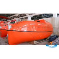 Totally Enclosed Lifeboat Rescue Boat High Durability With Smooth Surface Manufactures