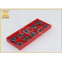 Multi - Coated Tungsten Carbide Inserts High Temperature Resistance Manufactures