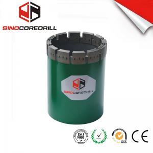 NW HW Diamond Casing Shoe Diamond Core Bit , Durable Impregnated Diamond Core Drill Bit Manufactures