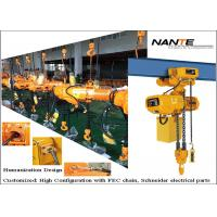 Small Capacity Electric Chain Hoist  with copmetitve price for daily using Manufactures