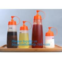 Food grade LDPE soft squeeze chili hot tomato sauce ketchup plastic bottles,16oz Food Grade Plastic Squeeze Sauce Bottle Manufactures