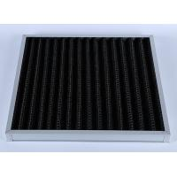 High Efficiency G4 V Bank Z-line Panel Air Filter , Activated Carbon Media Manufactures
