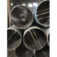 304 Stainless Steel Welded Pipe 400# Mirror Finished For Staircase Handrail Manufactures