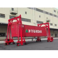 Mobile Container Heavy Lift Equipment , 80 Ton Port Container Crane Manufactures