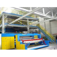 Quality PP / PET spunbond SMS Non woven Fabric Making Machinery / Equipment 3200mm for sale