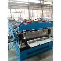 Hydraulic Kliplock roll forming machine 0.3-0.8mm Thickness 25 Stations for sale