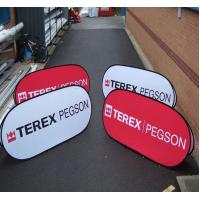 Folding printed Show Case Popup A Frame Banners Triangle Models W100 x H100cm Manufactures