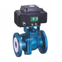 Thread Connection Electric Motor Operated Valve Fluorine Lined Ball Valve Manufactures