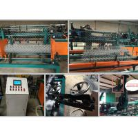 1.5-4mm Wire Diameter Chain Link Machine For Steel Wire Weaving Fence Manufactures