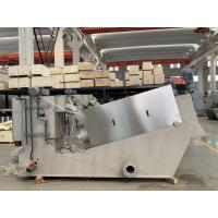Mobile Screw Press Sludge Dewatering Machine For Wastewater Treatment Plant Manufactures
