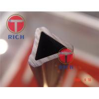 China Steel Grade Structural Steel Pipe , Special Triangle Steel Tube For Furniture on sale