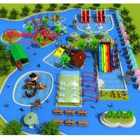 Highly Reliable Water Park Playground Equipment Large Size Comprehensive Type Manufactures