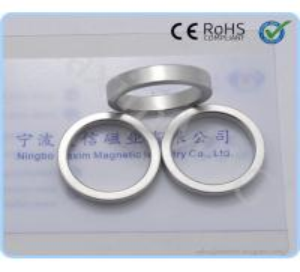 Buy cheap Neodymium Ring Magnet NiCuNi coating from wholesalers