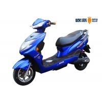 60V Long Range Electric Scooter 1000 / 1500 Watt With Brushless Motor Manufactures
