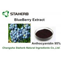 Anti-oxidant Skin Care Pure Blueberry Extract Anthocyanidin 5% - 95% For Beverage Product Manufactures