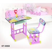 China Children Furniture Study Table and Chairs for Toddlers , Space Saving Table and Chairs on sale