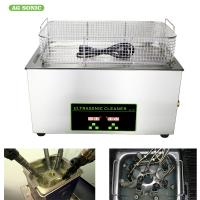 Injector Mould Car Parts Dental Ultrasonic Cleaner Medical Tools Wash With Heater / Timer Manufactures