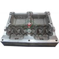Aluminium Egg Box / Clam Shell  Dies 6 Cavities Pulp Mould with High Precision Manufactures