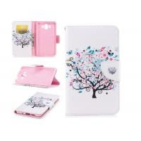 Colorful Tree Pu Leather Phone Case Mixed Color With Multi Function For Huawei Manufactures