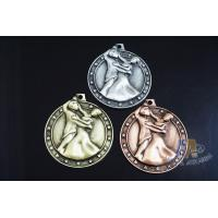 High 3D Effec Custom Engraved Sports Metal Dance Running Fencing  Medals And Ribbons ,Zinc Alloy Medalloon Manufactures