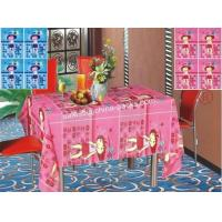 Oblong Children Printed Pattern  PE Table Cloth Manufactures