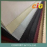 Decoration PVC Artificial Leather With New Designs For Sofa And Chairs Manufactures