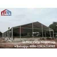 China 20x30m Garden Marquee Tent / Commercial Party Tents Tempered Glass Wall on sale