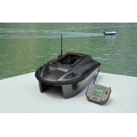 China ABS Plastic RC Wireless twin-hull twin-rudder Fish Finder Bait Boats with GPS, LED light on sale