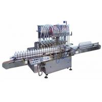China Easy Opeartion Semi Automatic Liquid Filling Machine With Multi Heads High Speed on sale