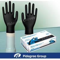 Colored Medical Nitrile Exam Gloves , Powder Free Electrical Work Gloves Manufactures