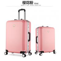 China 24'' 28'' Fashion Candy Color PC ABS Trolley Luggage Sets with Electronic Scale on sale